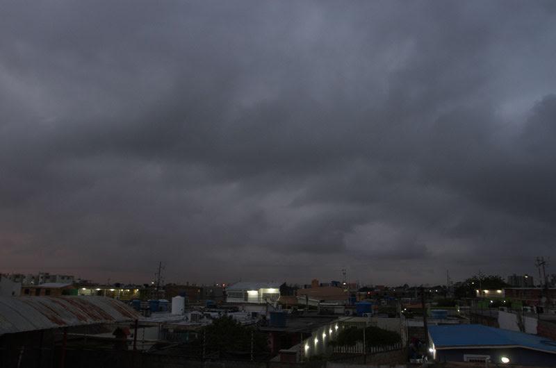 Maracaibo amaneció parcialmente nublada y con lloviznas en algunas zon...