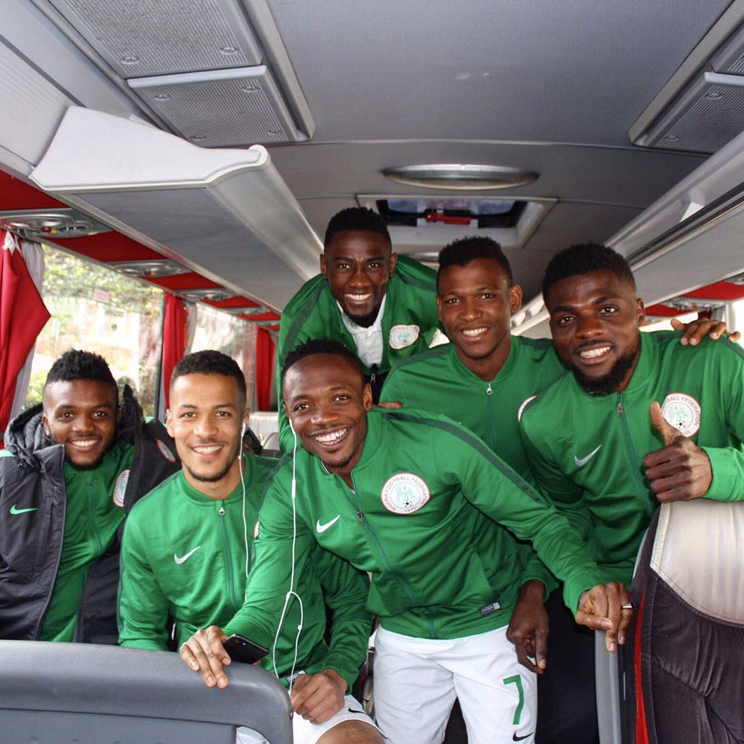 Matchday Nigeria v Senegal 🇳🇬 https://t.co/HD8YAgnaQr