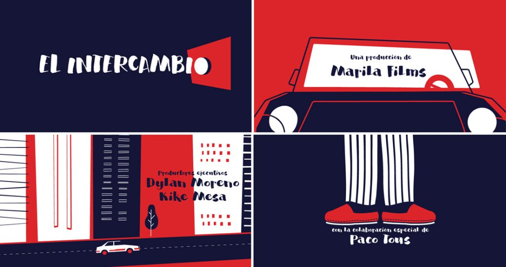 Estrenamos hoy los créditos de @ElIntercambio_ A las 5pm en @TeatroCervantes @festivalmalaga #estudio #animacion #2D  http:// bit.ly/2nqJNYM  &nbsp;  <br>http://pic.twitter.com/IhH5rmrwpF