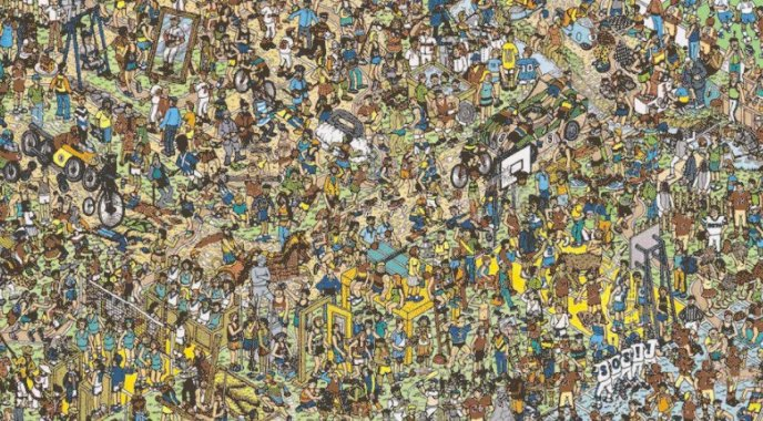 #WhatEverHappenedTo Waldo that drove him to a life of seclusion? https...