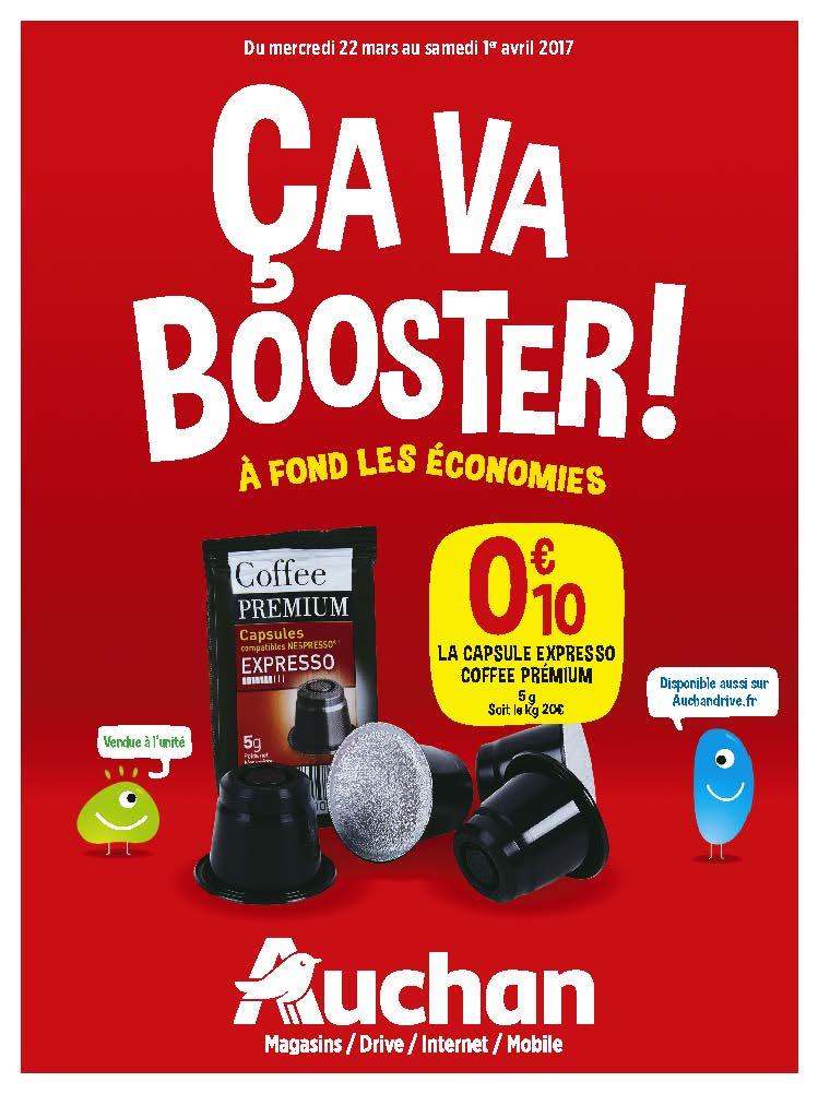 Cette semaine, ça BOOST dans votre magasin @AuchanPerpignan  #foireauxvins #marchédesartisans #çavabooster #Auchan <br>http://pic.twitter.com/qcWjsBJPU1
