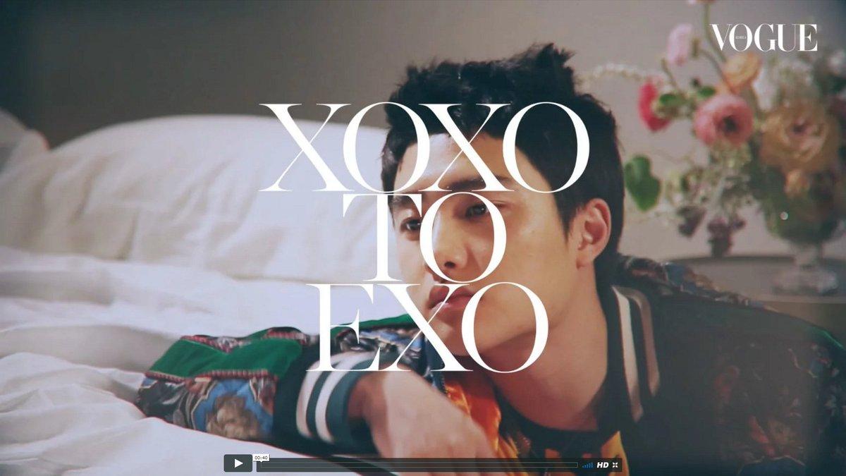 [VOGUE TV] XOXO TO EXO