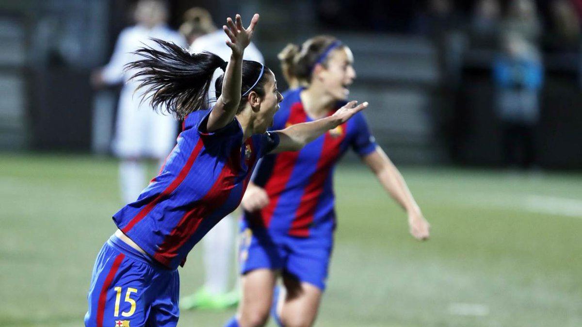🎥 [HIGHLIGHTS] @FCRosengard - @FCBFemeni (0-1) #UWCL https://t.co/R3aI...