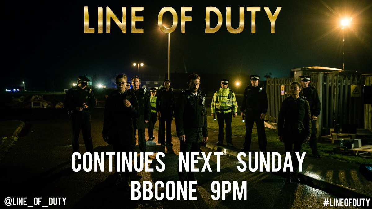 😱😱😱😱😱 Thanks for watching!. #LineofDuty continues next Sunday 9pm @BBC...
