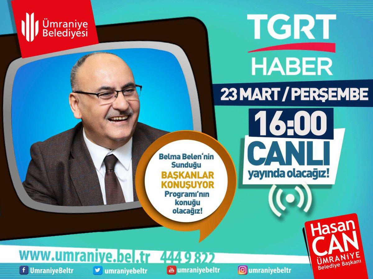 Birazdan @tgrthabertv Başkanlar konuşuyor programının Canlı yayın konu...
