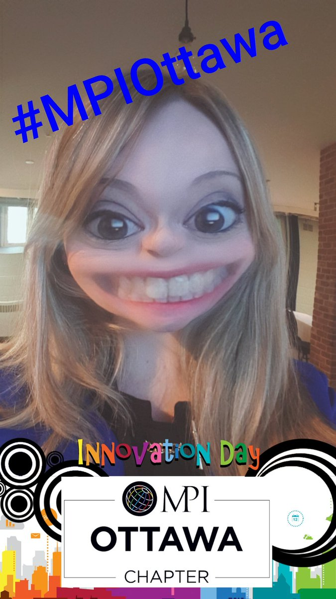 Hey #MPIOttawa! Check out the custom #Snapchat #Geofilter that I created for today! Be sure to snap &amp; share using #MPIInno! #EventProfs #MPI<br>http://pic.twitter.com/ttDe61LRkC &ndash; à All Saints&#39; Sandy Hill