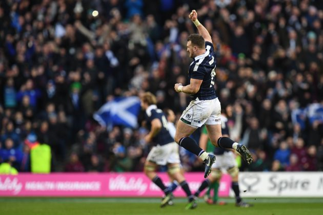 Stuart Hogg has been named RBS Six Nations player of the tournament fo...