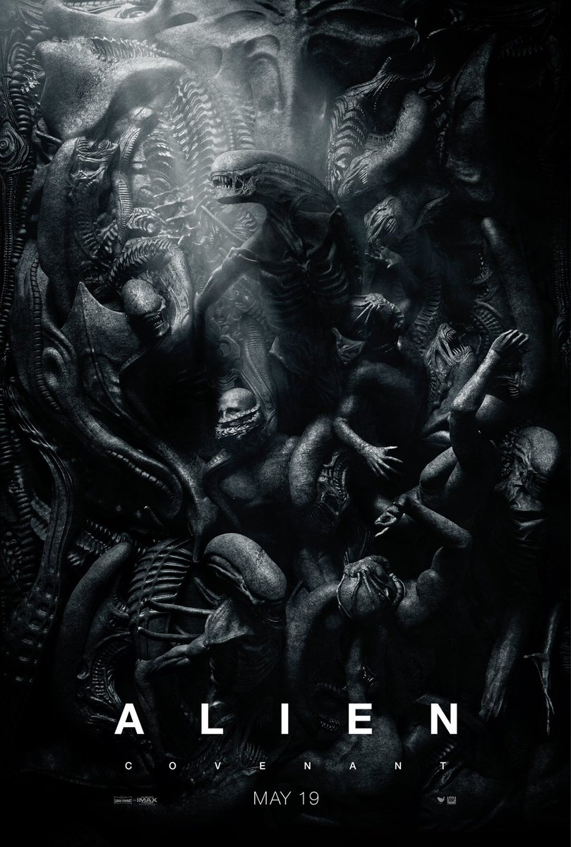 Nouvelle affiche sublime pour #AlienCovenant https://t.co/nPTA0tRgIZ