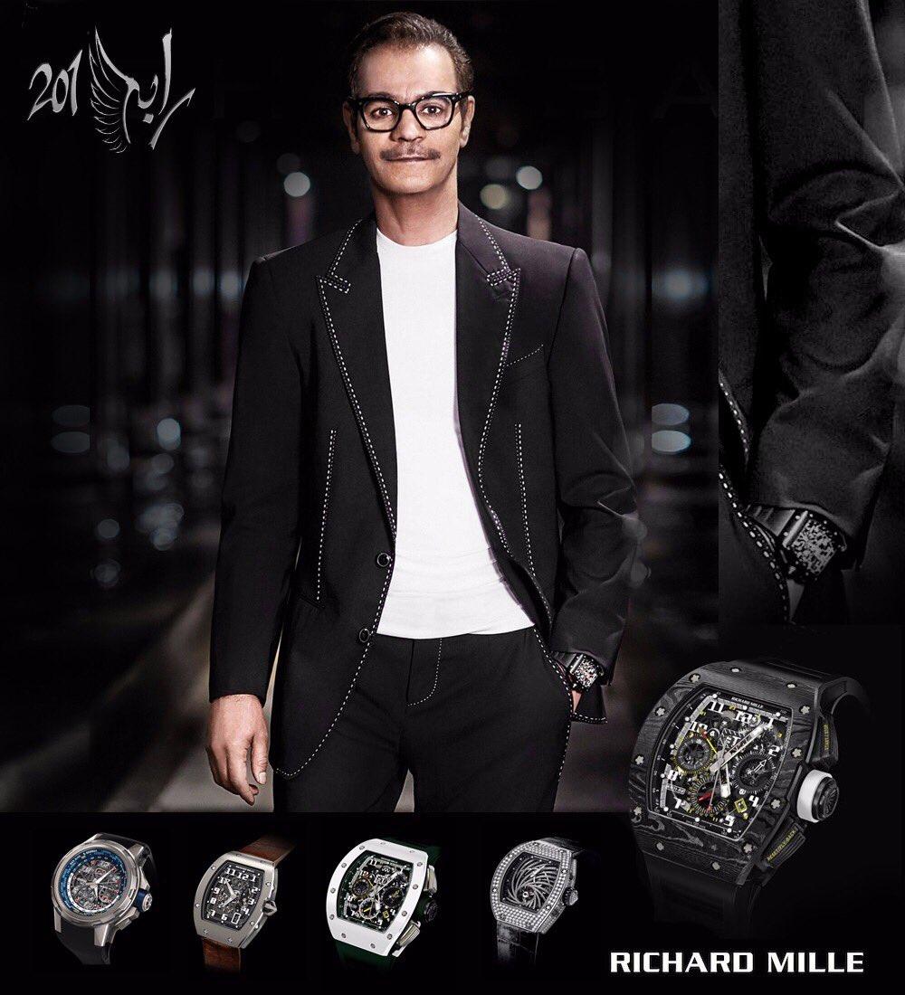 Ali Bin Ali Luxury وكيل ساعات Richard Mille الراعي الرسمي لـ #Rabeh201...