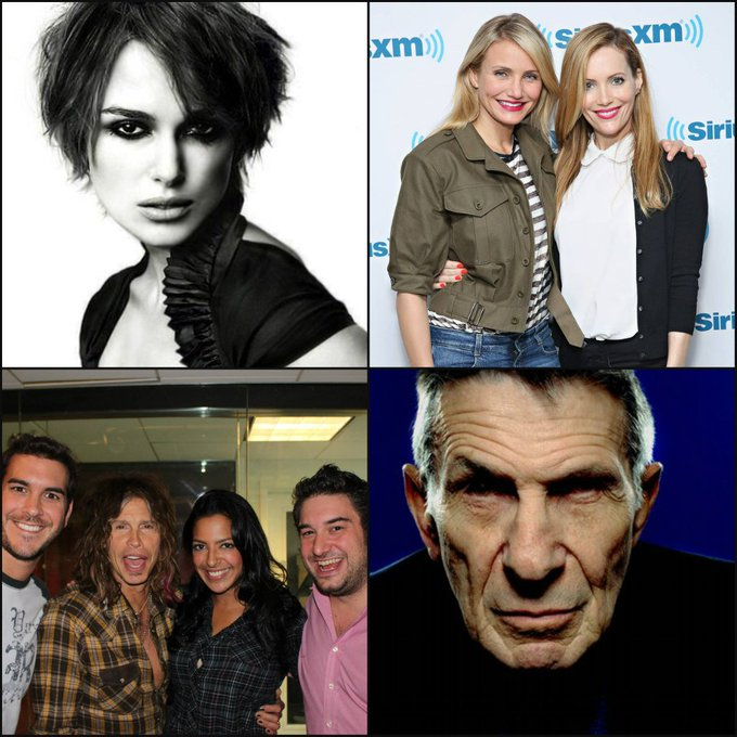 Happy Birthday Keira Knightley, Leslie Mann, & Steven Tyler      And remembering the late Leonard Nimoy