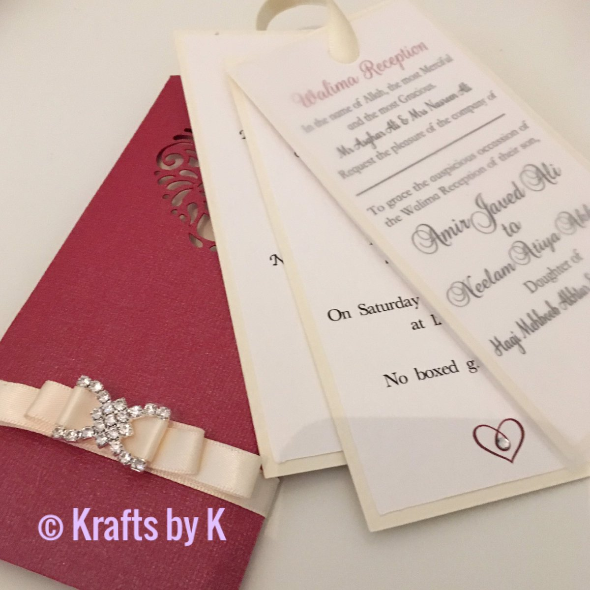 Kerry mccabe kerrybaps twitter my first attempt at wedding invitations using exoticred linen cardstock from hobbycraftcdf hobbycraftnwppicitterzagvujtaz9 monicamarmolfo Image collections
