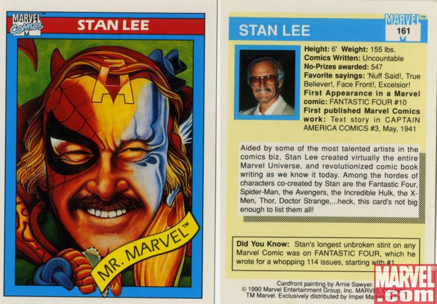 #MySuperHeroNameIs Mr. Marvel (if you believe the trading card.) https...