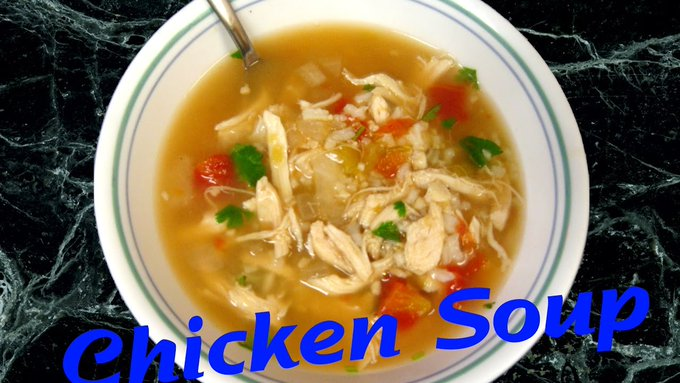Chicken Vegge Corn Soup