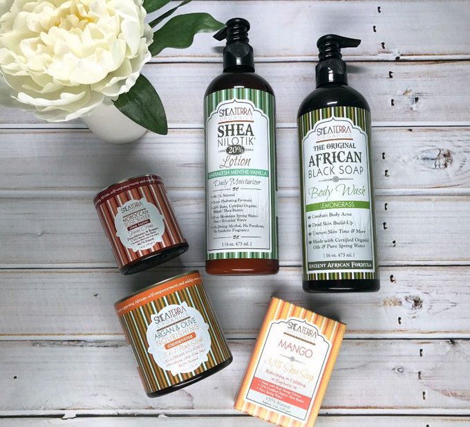 Shea Terra Organics Favorites