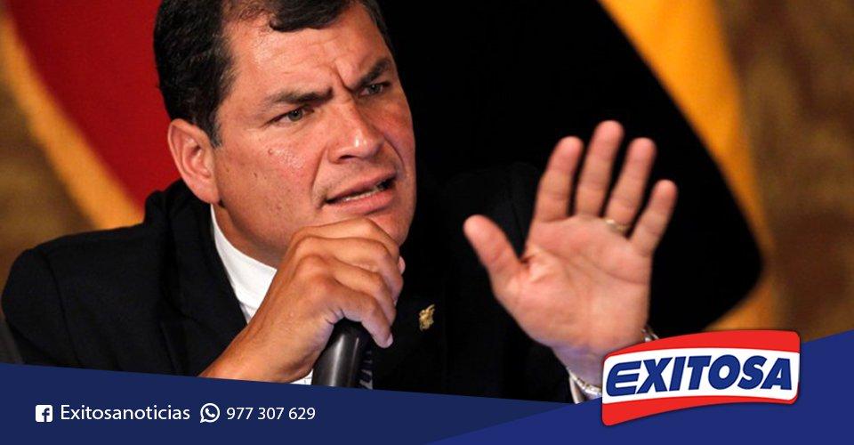 VIDEO | #Correa explica porque #Ecuador no sufre como #Perú por desastres naturales ► https://t.co/sBHaEZYQVf https://t.co/vyKoZfnXN8