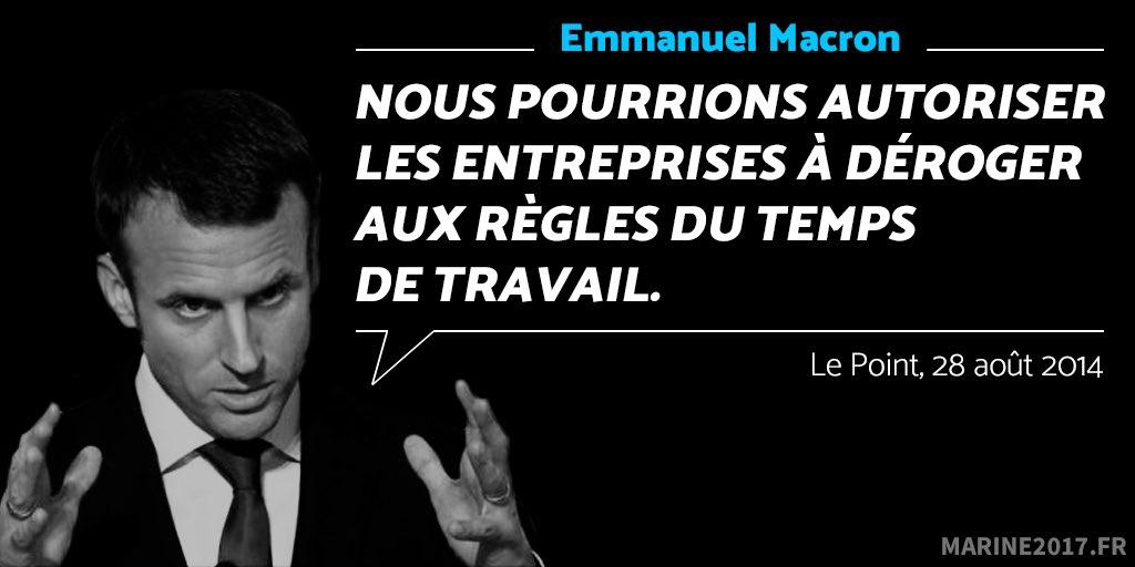 #LeVraiMacron c'est toute la violence du Système ultra libéral exigé par l'UE