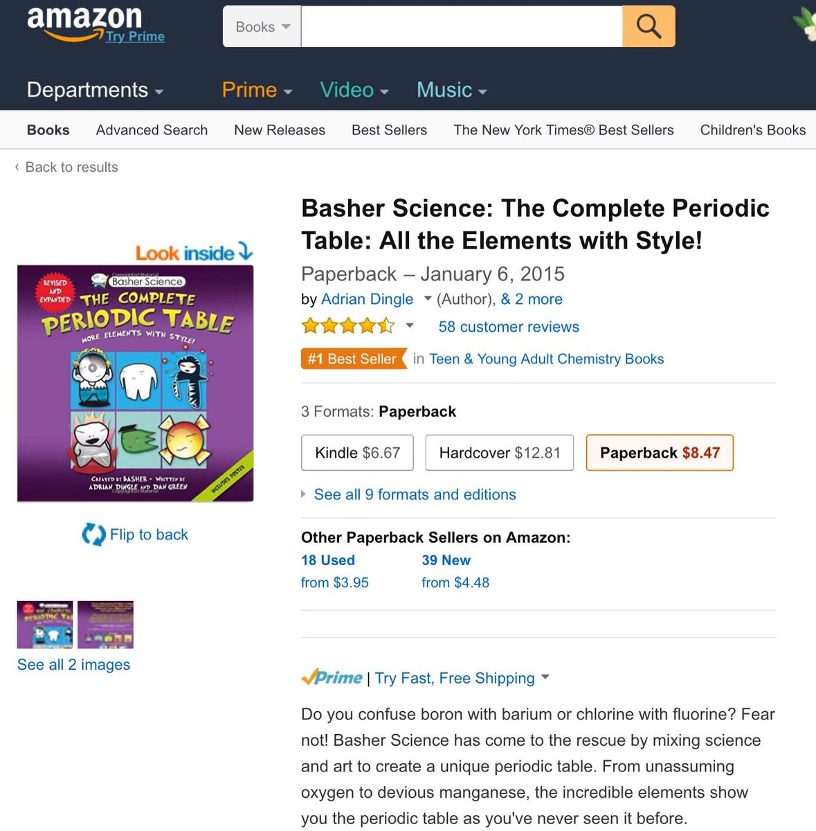 Basher science on twitter number 1 basherscience basher science on twitter number 1 basherscience periodictable book number 1 chemistry book for teens and young adults gamestrikefo Gallery