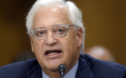BREAKING: Senate confirms David Friedman as Trump's ambassador to Isra...