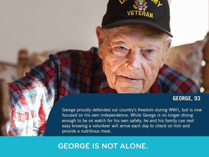 George, a WWII veteran, proudly defended the US & now we have to d...