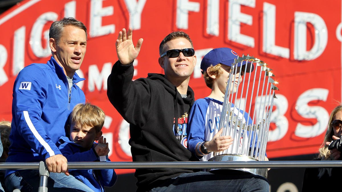 The world's greatest leader? Cubs president Theo Epstein tops Fortune'...