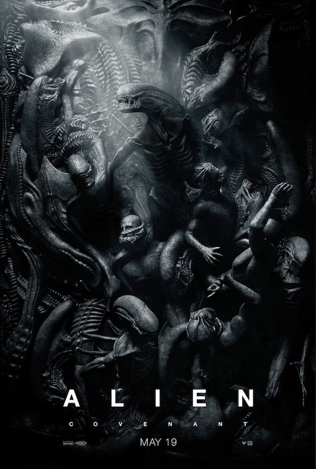 New #AlienCovenant poster is rocking a heavy PARADISE LOST vibe https:...