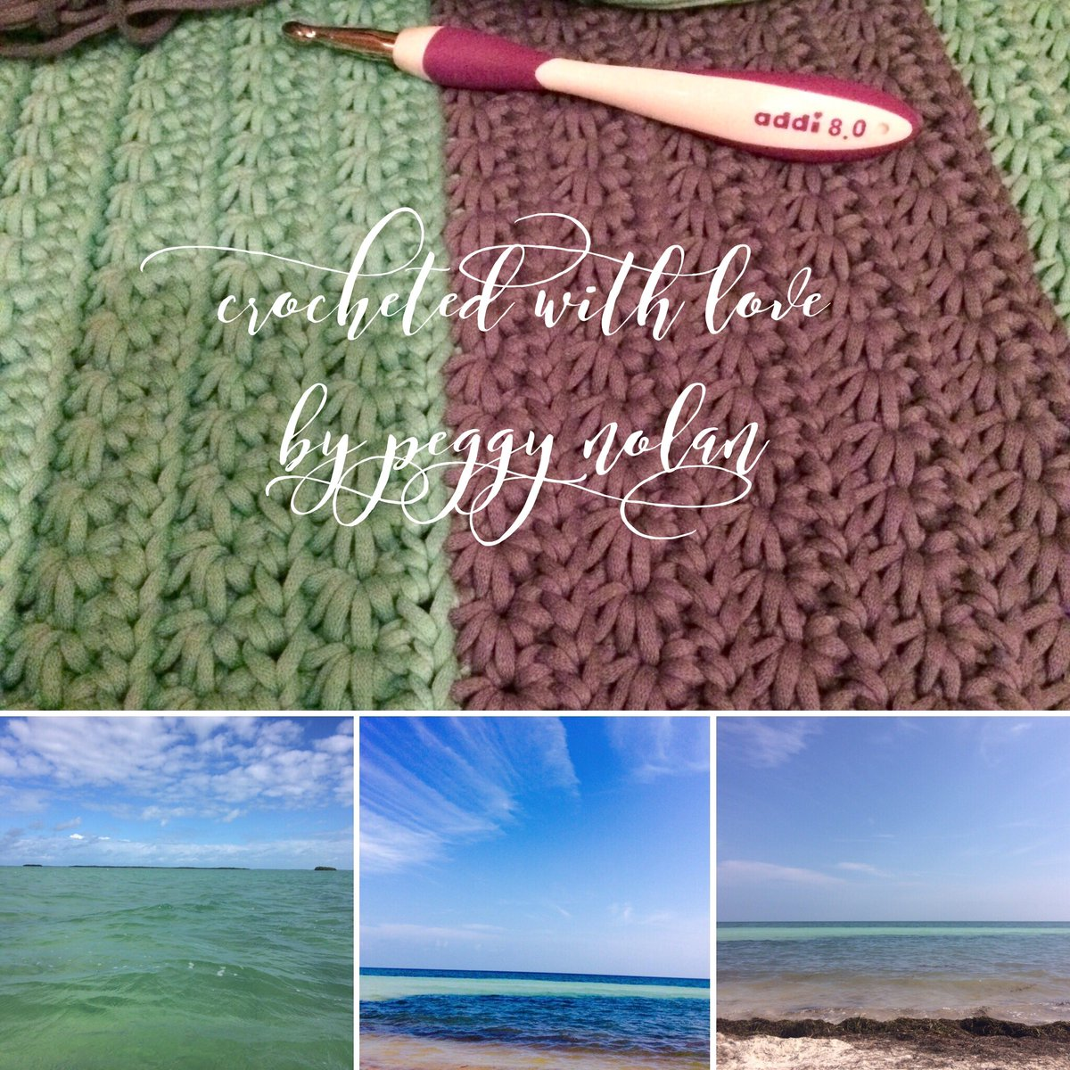 Inspired by my time in #keywest  #handmade #crochet #summer #blanket @BernatYarns @TheCrochetCrowd <br>http://pic.twitter.com/iso9LXwdjg