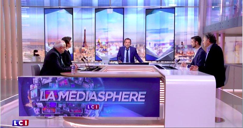 #Audiences Record d&#39;audience (3,8% de PDA) pr la @MediasphereLCI mardi 21 mars sur le #Lerouxgate et #LeGrandDebat  http://www. toutelatele.com/lci-bruno-le-r oux-fait-debat-et-offre-un-record-a-la-mediasphere-derriere-tpmp-et-ludo-89524#cRX61hXVlgDP4GUf.99 &nbsp; … <br>http://pic.twitter.com/xVbRnQzblL