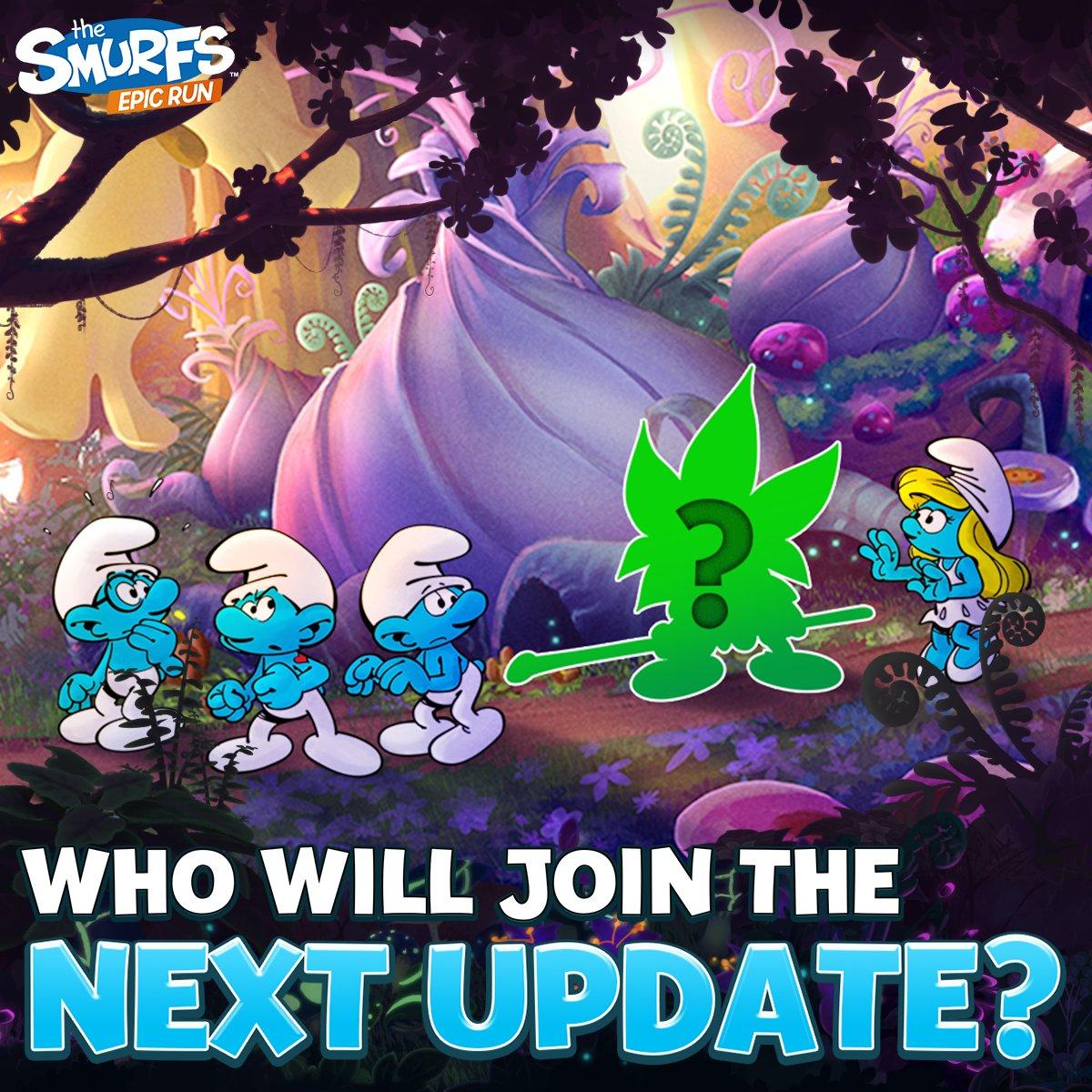 Smurfs Epic Run on Twitter: \