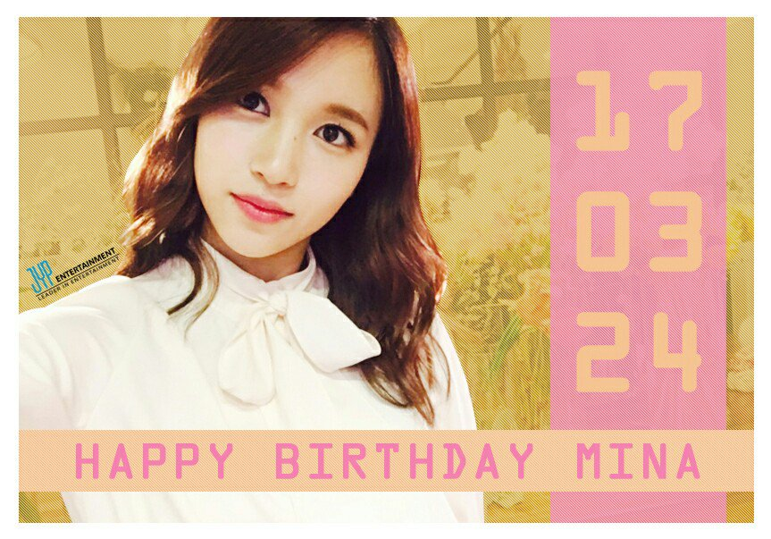 Happy Birthday MINA  #HappyMINAday https://t.co/ZVpzvWtJxd