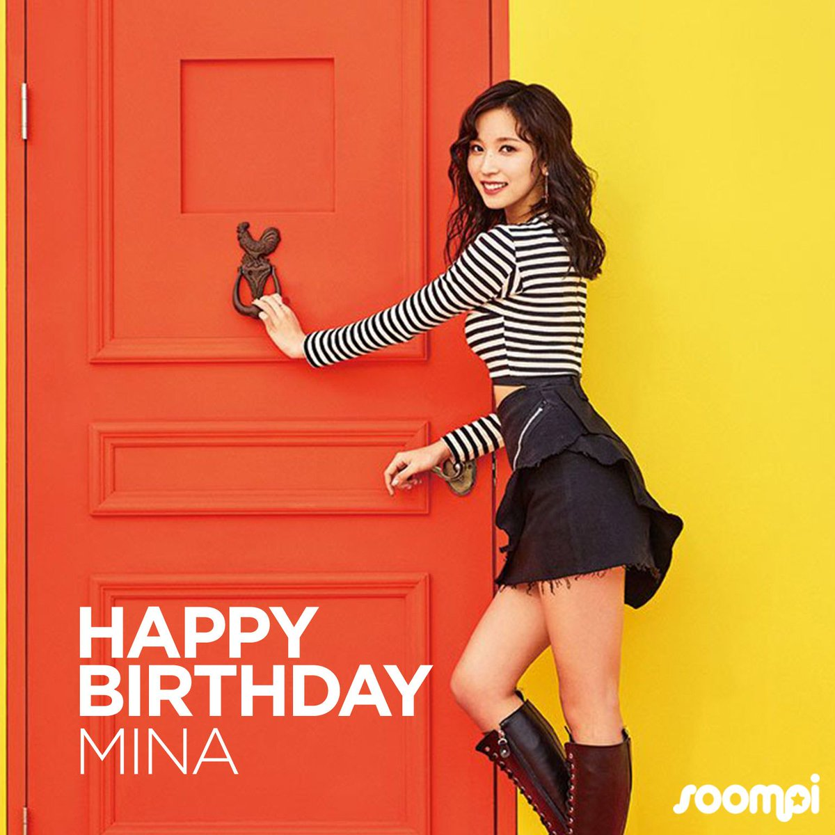 Happy Birthday to #TWICE's Mina! #HappyMinaDay https://t.co/QCE2WUVPvg...