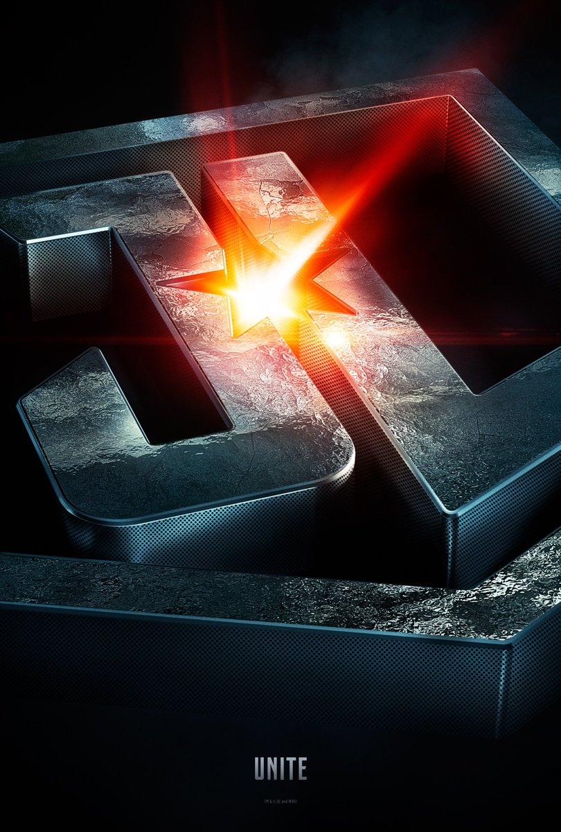 Here's the official Justice League poster... let the countdown begin....