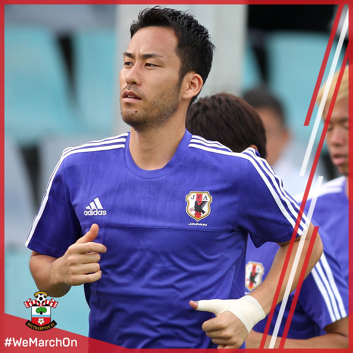 It's a big moment for #SaintsFC's @MayaYoshida3 this afternoon, as he...