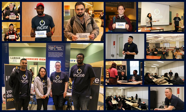 Very proud of the young activists leading #UFCW&#39;s newest initiatve 4 young workers, &quot;Incite.&quot; More here:  http:// ow.ly/copa30abKoE  &nbsp;   #canlab #1u <br>http://pic.twitter.com/OT8RGNxidd