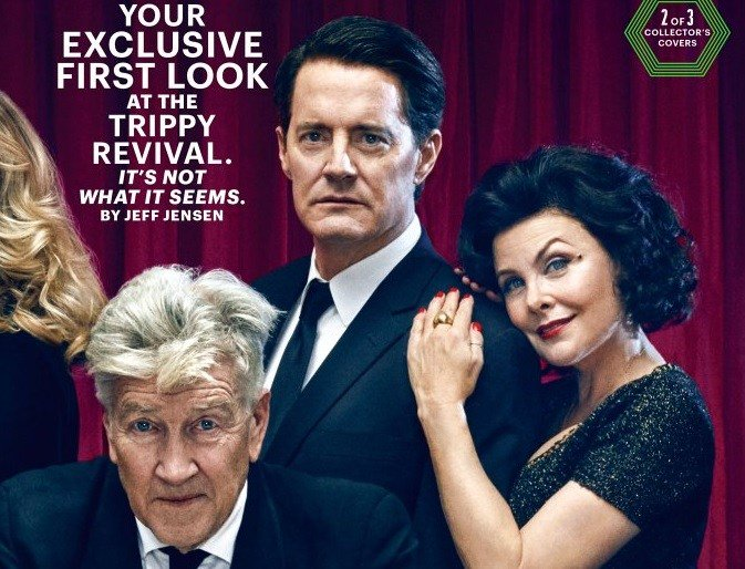 "New Entertainment Weekly Covers Reunite ""Twin Peaks"" Favorites https:/..."