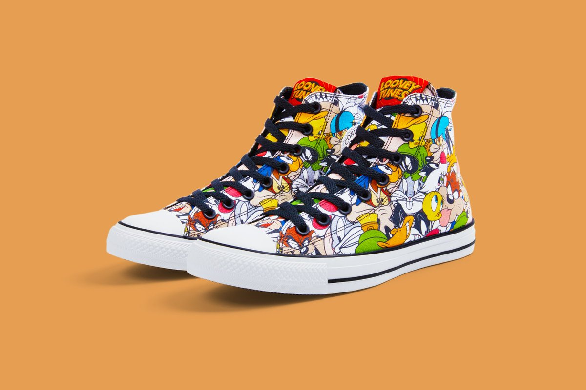 87bb01906f2d7b Just dropped  the  Converse x  WBLooneyTunes collection. Available only at  Journeys! http   bit.ly 2n8NvmT  ConverseLooneyTunespic.twitter .com DPngj7Hwp5