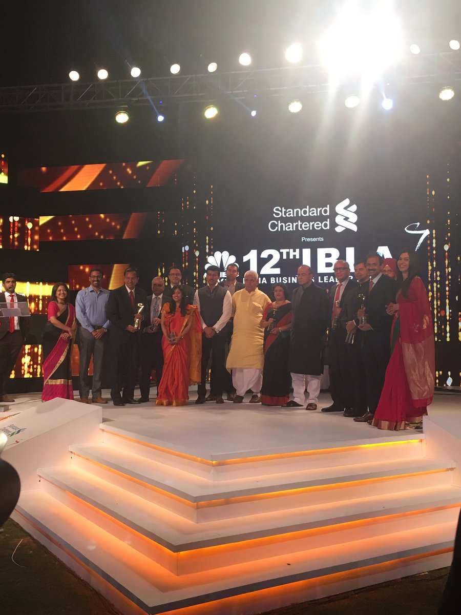 Here the winners of this year's #CNBCTV18IBLA! https://t.co/Tgr1wuGd0w