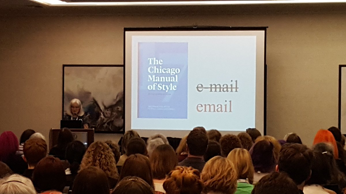 A huge cheer for @SubvCopyEd's announcement that @ChicagoManual's new...