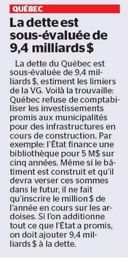 Selon la VG, Gouv #couillard sait pas compté ou il veut simplement tromper les Québécois !Vous savez le déficit zéro de #Leitao? #plq #PQ <br>http://pic.twitter.com/2h8C6B8gAq