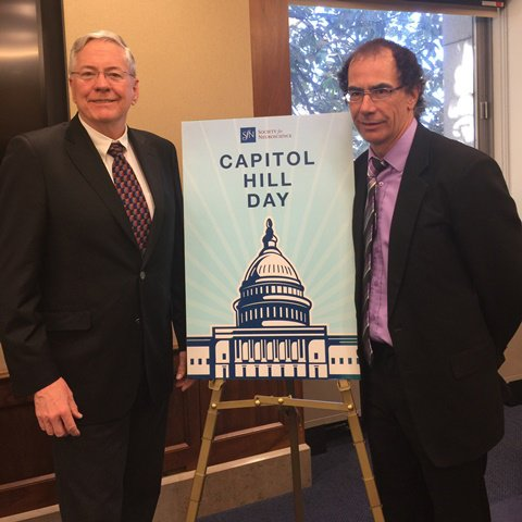 Dr. Brian MacVicar and Dr. Doug Munoz, past @CAN_ACN leaders, @SfNtweets Capitol Hill Day #sfnhillday: https://t.co/wO6BgUdngq