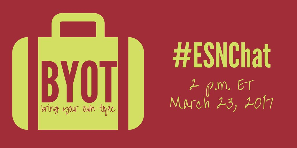 Thumbnail for Bring Your Own #ESN Topic - Mar. 23, 2017