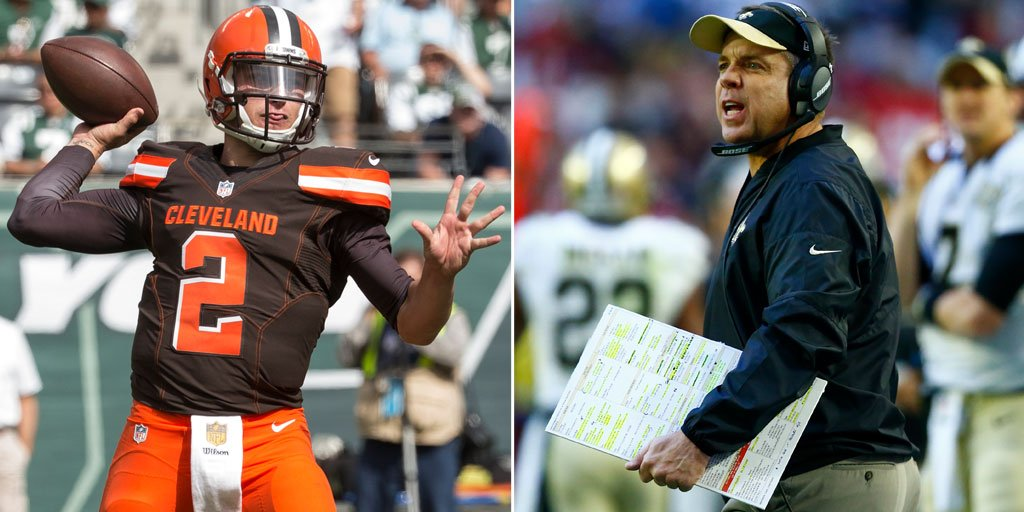 Sean Payton, Saints have interest in Johnny Manziel https://t.co/Wh8Xt...