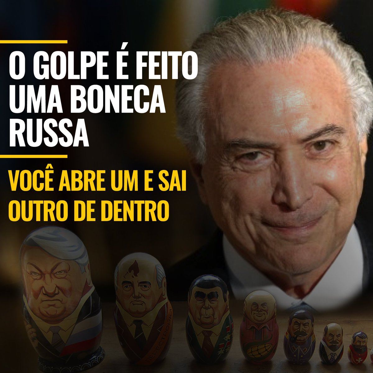 A #terceirização é mais uma fatura paga por Temer a quem financiou o g...