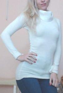 ✾♯ #PLANETGOLD #Ivory #Turtleneck #Tunic #Classic #classy #ootd #Sweater #cozy #warm Size S<br>http://pic.twitter.com/okKQ7LJsgi