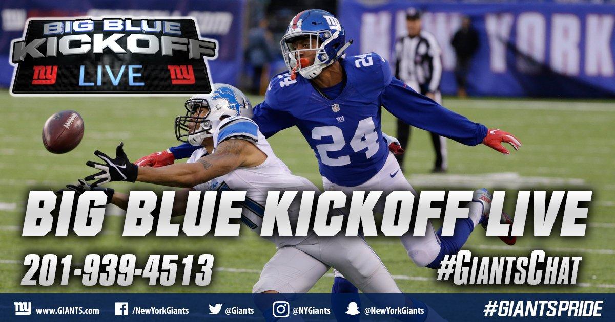 Hosting BBKL w/@giantswfan 12PM ET @Giants.com..talking UW prospects w/@Softykjr + ur calls #giantschat  http:// giants.com/bigbluekickoff  &nbsp;  <br>http://pic.twitter.com/UjEnV7yEwN