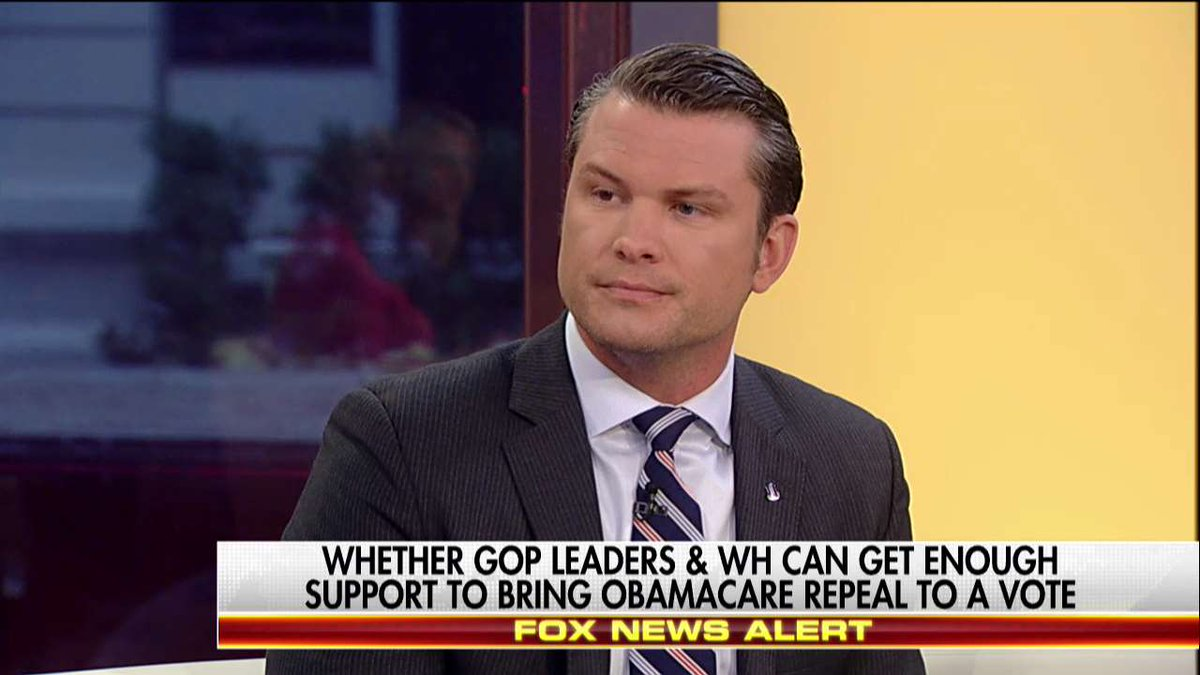 .@PeteHegseth: 'The bill that comes out of the House should be as cons...