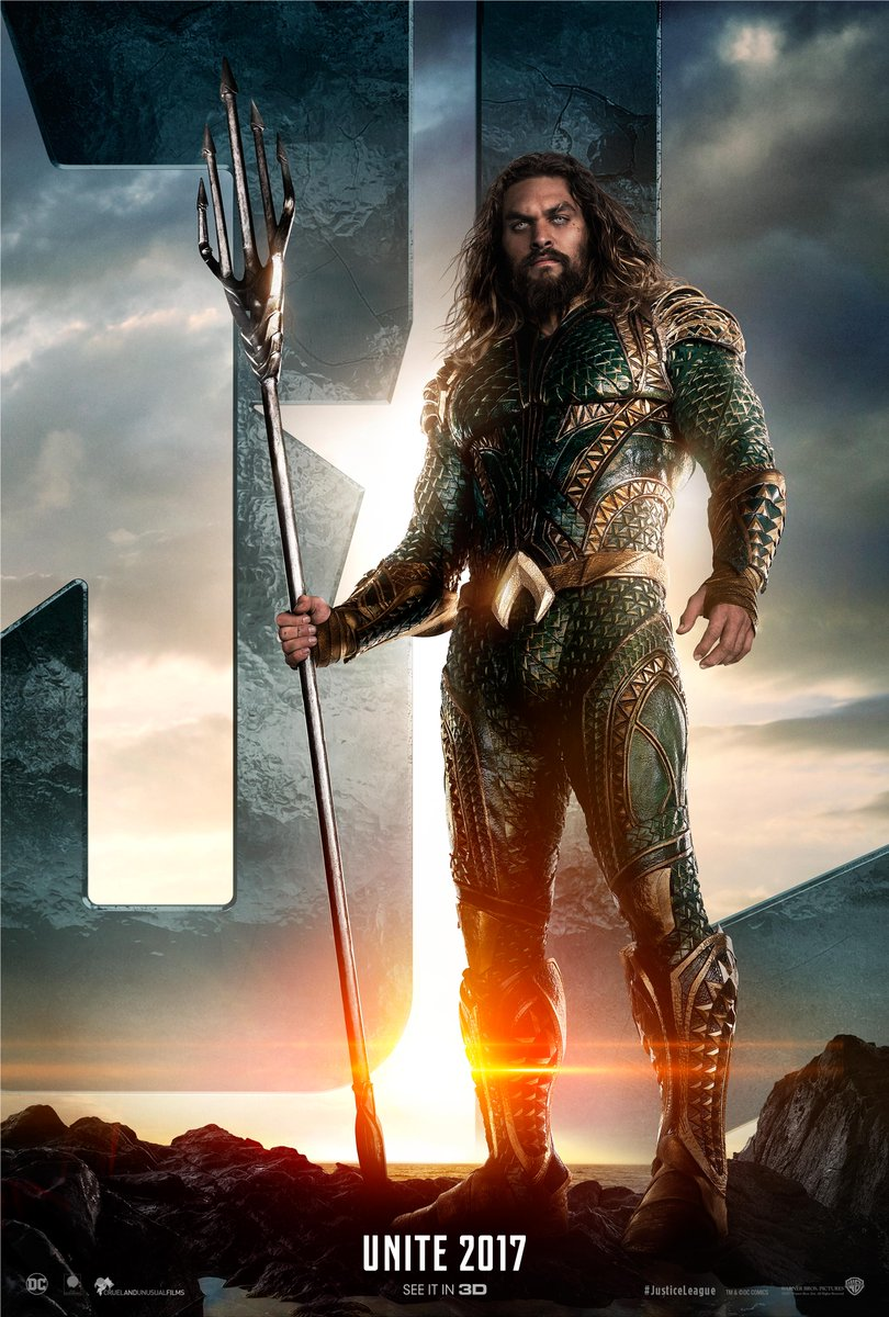 Jason Momoa is Aquaman. #UniteTheLeague #JusticeLeague https://t.co/uq...