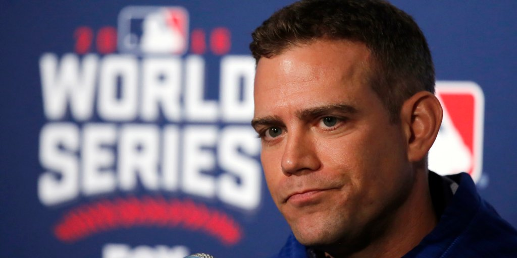 Theo Epstein had a fantastic reaction to being named Fortune's No. 1 W...