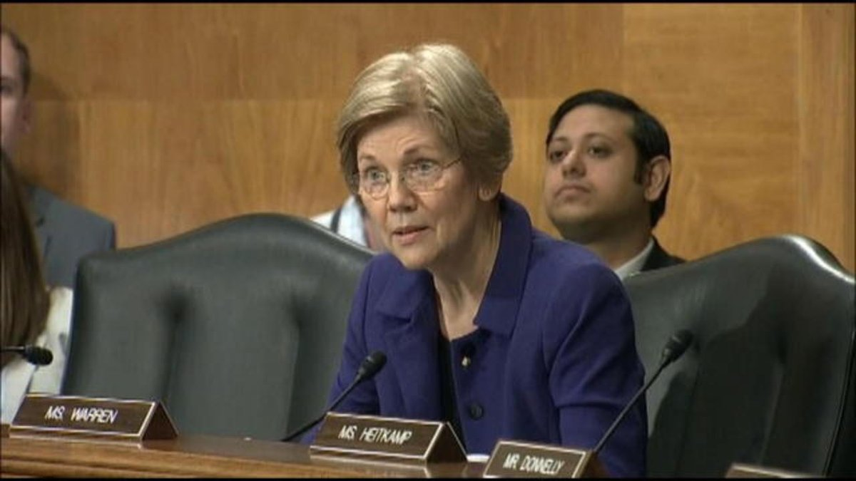 Sen. Warren grills SEC nominee Clayton on Carl Icahn's role in the Trump administration and potential recusals https://t.co/zRVJz4b0In