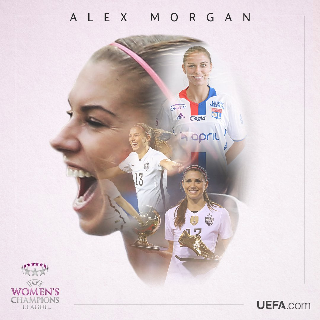 Alex Morgan makes her European debut for @OL tonight!  👌 Retweet if yo...