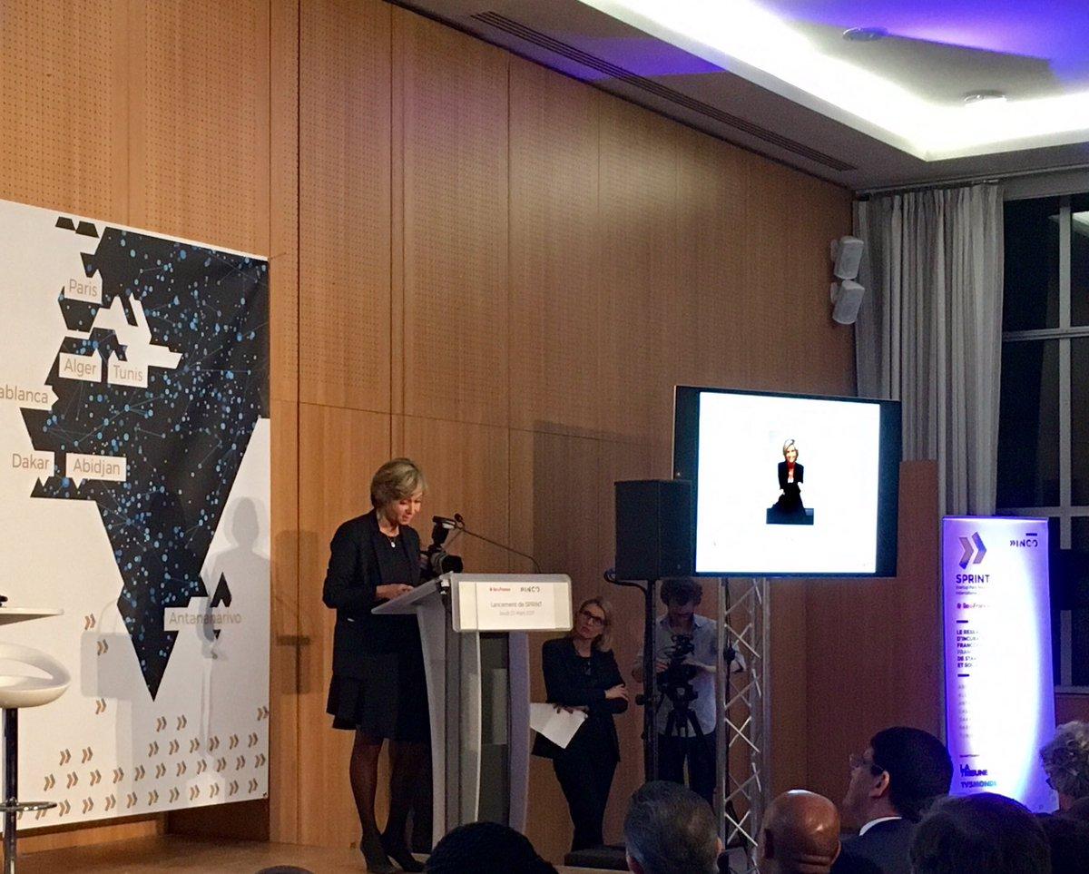 &quot;Les pépites de la #tech africaine innovent et exportent à l&#39;international. #Sprint leur permet de venir en @iledefrance et en Europe&quot;<br>http://pic.twitter.com/Gu7pMMCcmV